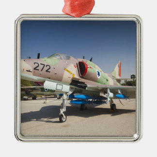 US-built A-4 Skyhawk fighter Metal Ornament