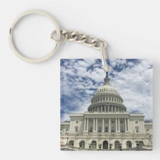 US Capital Under the Sun Keychain