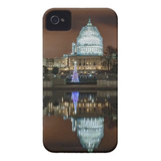 US Capitol Building at Night iPhone 4 Case-Mate Case