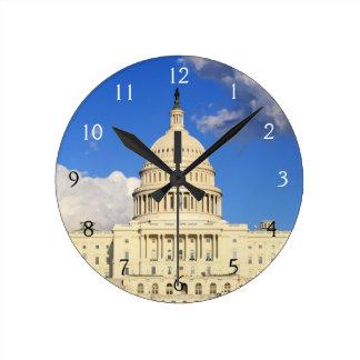 US Capitol Building, Washington DC, USA Wall Clocks