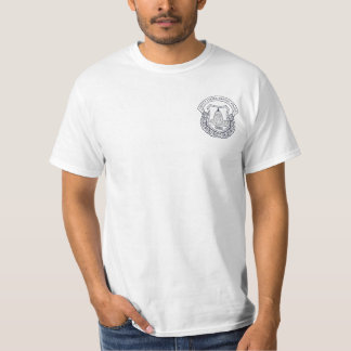 US Capitol Police Bagpipes T-Shirt