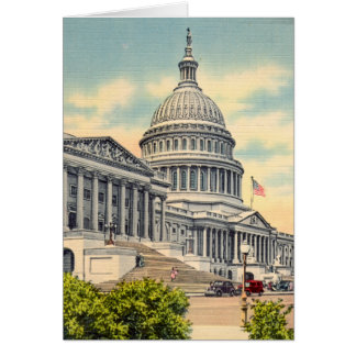 US Capitol, Washington, DC Card