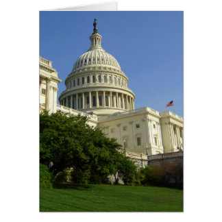 US Capitol Washington DC Greeting Card