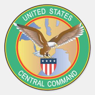 US Central Command CENTCOM Round Sticker