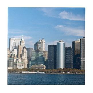 US Cityscape: New York Skyline #1 Tile