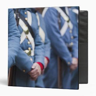 US Civil War-era Marines, military 3 Ring Binder