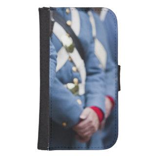 US Civil War-era Marines, military Galaxy S4 Wallet