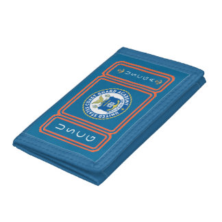 US Coast Guard Academy Trifold Wallet