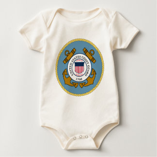 US Coast Guard Baby Bodysuit
