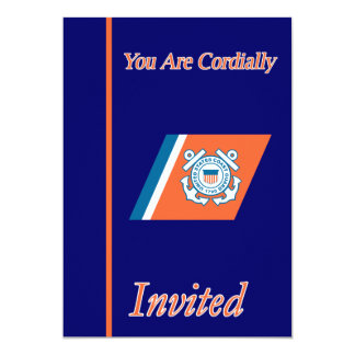 US Coast Guard Chief Retirement Invitation