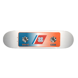 US Coast Guard Commander Shield Skate Board Decks