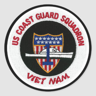 US Coast Guard Squadron Sticker
