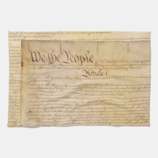 US CONSTITUTION KITCHEN TOWEL