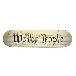 US Constitution Skate Board