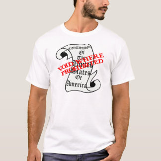 US Constitution Void Where Prohibited T-Shirt