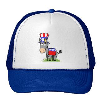 US Election Democrat Cap Trucker Hat