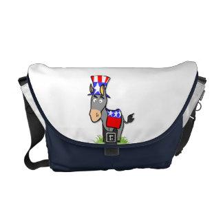 US Election Democrat Messenger Bag