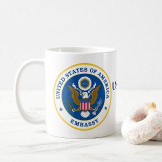 US Embassy Jerusalem Mug