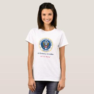 US Embassy Jerusalem Shirt (Woman's)