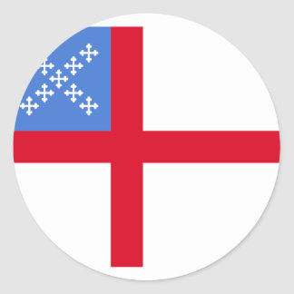 Us Episcopal Church, religious Round Sticker