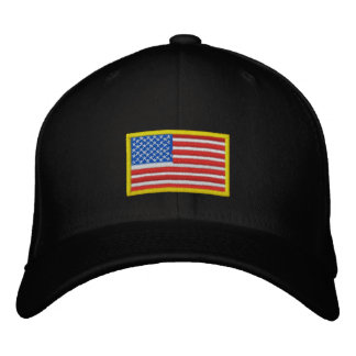 US Flag - America Embroidered Baseball Caps