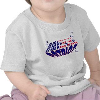 US Flag American Patriot kids Tee Shirt