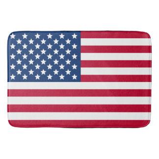 US Flag Bath Mat