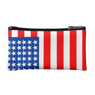 US Flag Cosmetics Bags