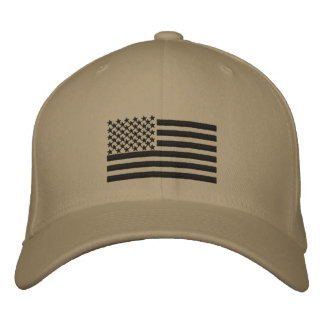 US Flag custom  name Hat