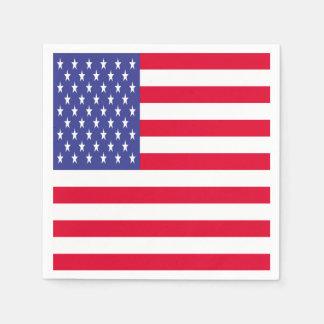 US Flag Disposable Napkin