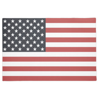 US Flag. Doormat