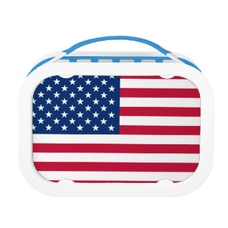 US Flag Lunch Boxes