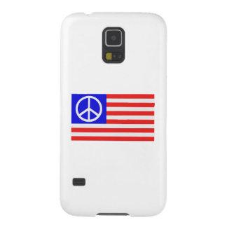 US flag peace Galaxy S5 Case