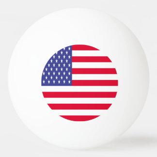 US Flag Ping Pong Ball