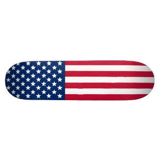 US Flag Skate Board Deck