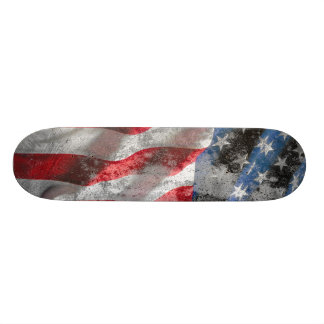 US Flag Skateboard