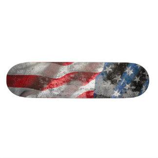US Flag Skateboard