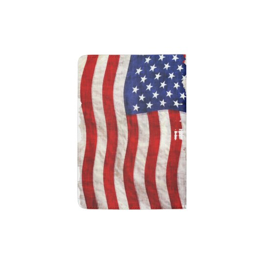 US Flag, Stars and Stripes Passport Holder