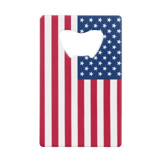 US Flag Wallet Bottle Opener