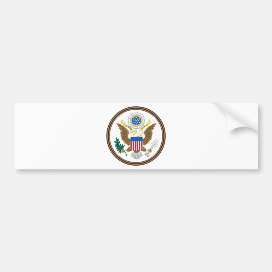 US Great Seal Obverse Bumper Sticker