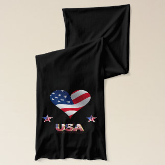 US heart Scarf
