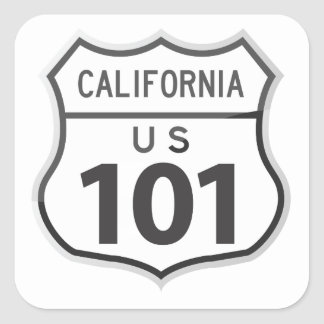 US Highway 101 California Road Trip Travel Sticker