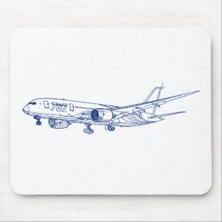US jet b787 Mousepad