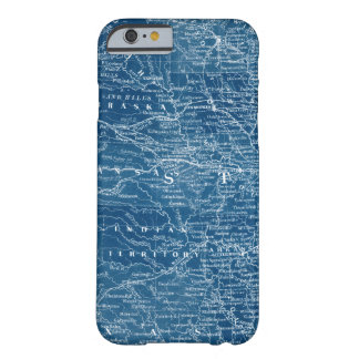 US Map Blueprint Barely There iPhone 6 Case