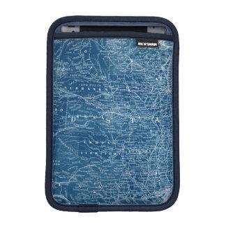 US Map Blueprint iPad Mini Sleeve