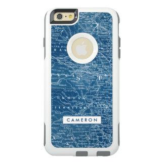 US Map Blueprint OtterBox iPhone 6/6s Plus Case