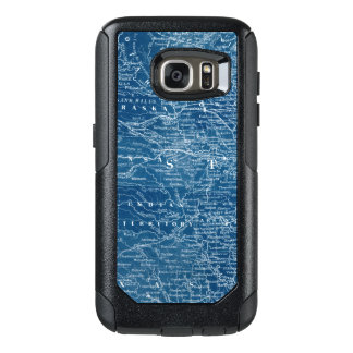 US Map Blueprint OtterBox Samsung Galaxy S7 Case