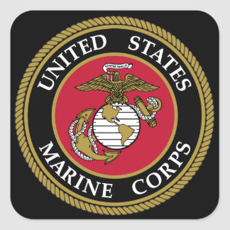 US Marine Corp Sticker
