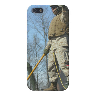 US Marine Corps Sergeant gives the thumbs up iPhone 5 Cover