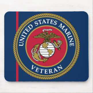US Marine Corps - Veteran Blue Mouse Pad